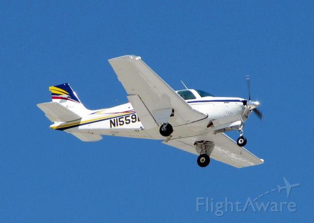 Beechcraft Bonanza (33) (N1559L) - Landing at Shreveport