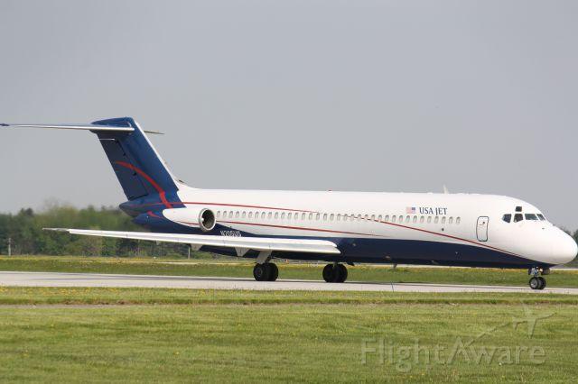 McDonnell Douglas DC-9-30 (N205US) - Leaving London,Canada(CYXU)for Willow Run (KYIP)