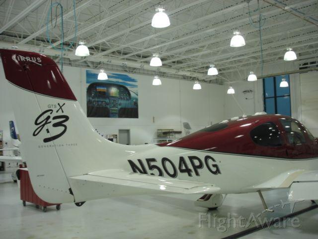 Cirrus SR-22 (N504PG) - Cirrus G3 SR22 GTS