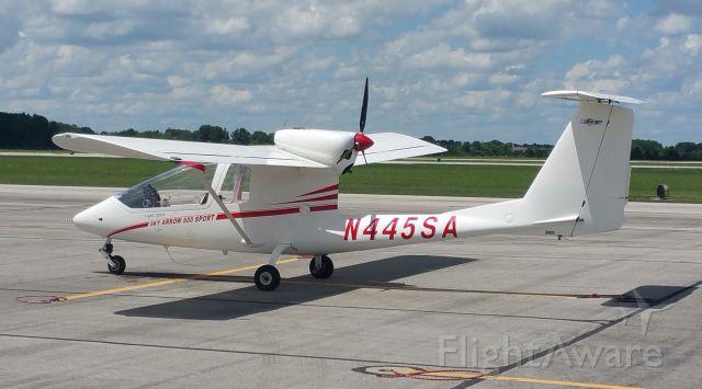 Experimental 100kts (N445SA) - OSU Airport