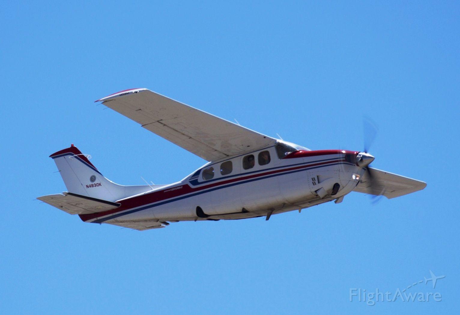 Cessna P210 Pressurized Centurion (N4830K)