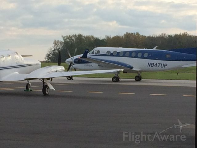 Beechcraft Super King Air 350 (N847UP)