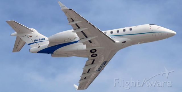 Bombardier Challenger 300 (HK5189) - Bombardier Challenger 300