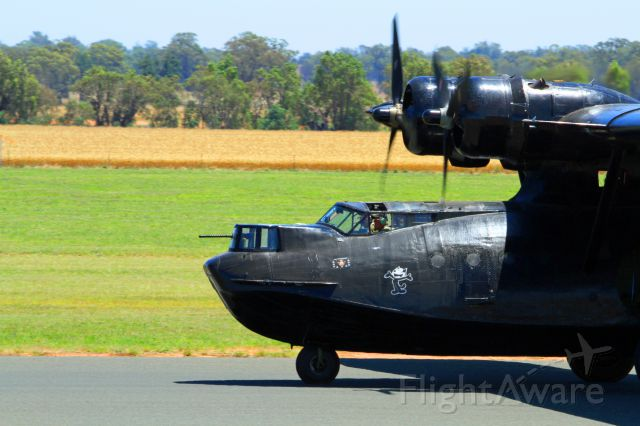 Canadair CL-1 Catalina (VH-PBZ) - Temora air show war birds downunder 2015. This aircraft is based at the Hars muesum at albion park australia.