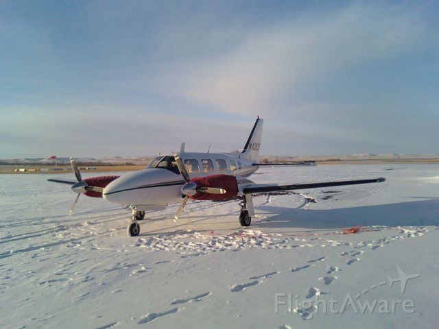Piper Navajo (N42CF)