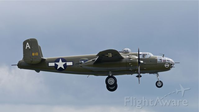 North American TB-25 Mitchell (N41123) - Flying Heritage Collection