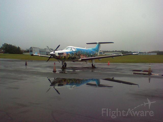 Pilatus PC-12 (N123CF)