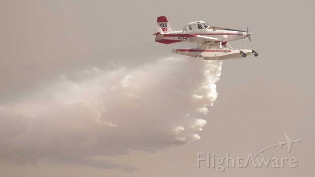 N8512L — - Air tanker water drop
