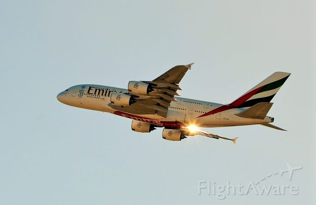 A6-EDP — - Evening departure for the dugong SYD-DXB