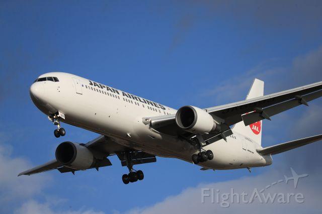 BOEING 767-300 (JA659J) - November 16th 2019:HND-HKD.