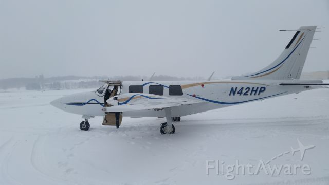 Piper Aerostar (N42HP) - SNOWBIRD GETTING READY FOR MIGRATION TO SOUTH FLORIDA