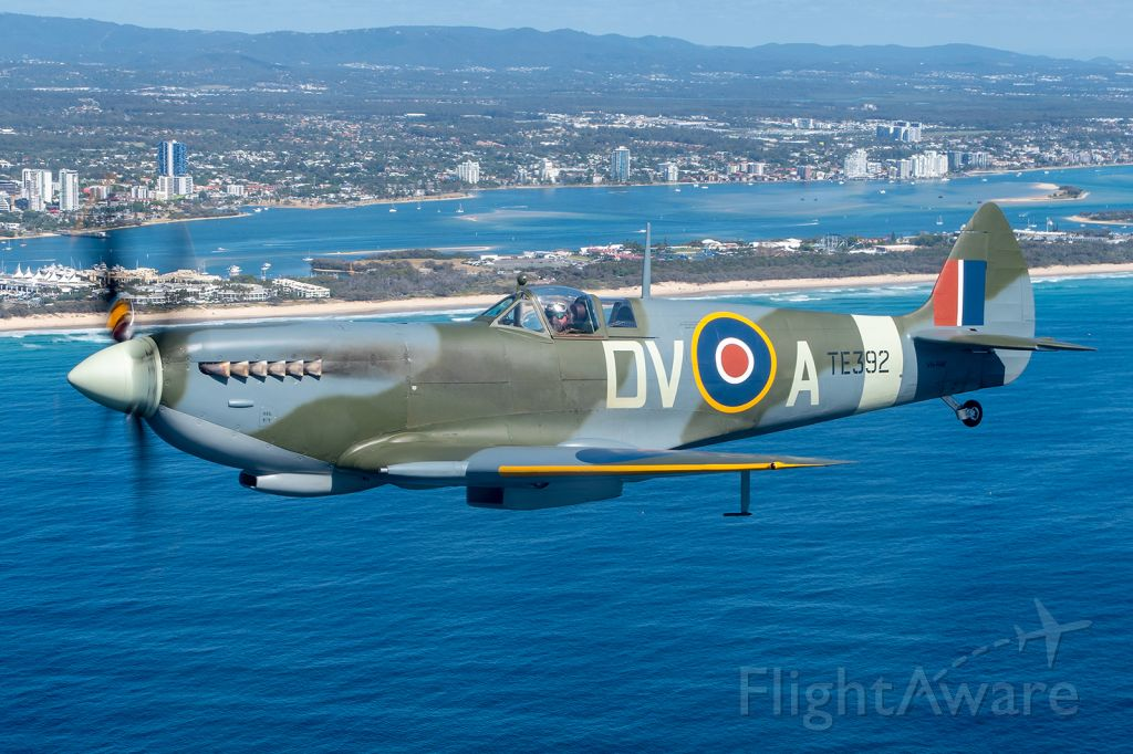 SUPERMARINE Spitfire (VH-RAF) - Air to air shoot with this beautiful Mk 16 Spitfire.