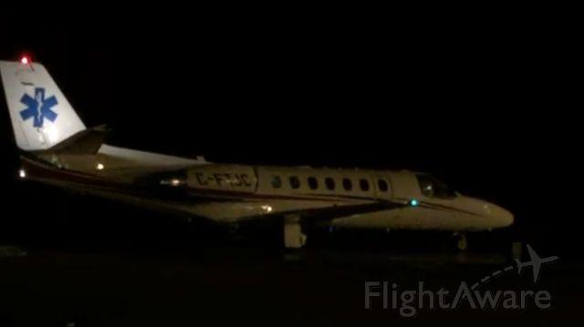 Fairchild Dornier SA-227DC Metro (C-FTJC) - Late night Medivac 01/1/16