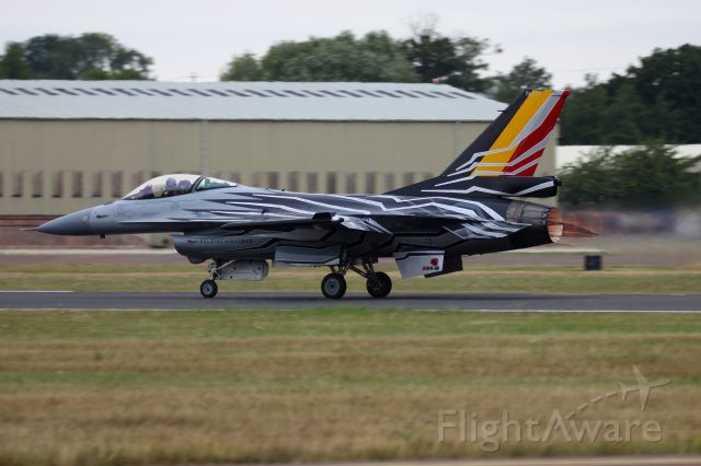 Lockheed F-16 Fighting Falcon — - F-16AM Belgian AF