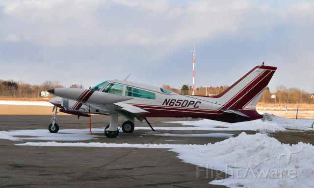 Cessna 310 (N650PC) - Cessna T310Q N650PC in Mason Jewett, MI