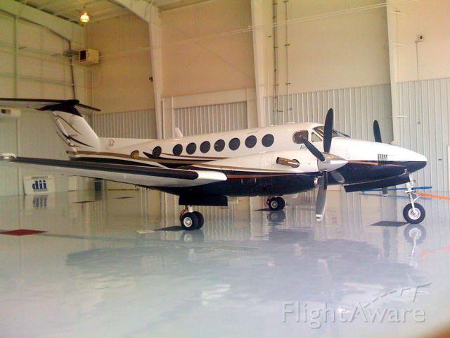 Beechcraft Super King Air 350 — - Back in hangar after a good day.
