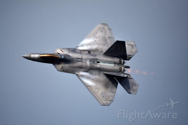 Lockheed F-22 Raptor (06-4123) - 2015 Seoul ADEX<br /><br />USAF F-22
