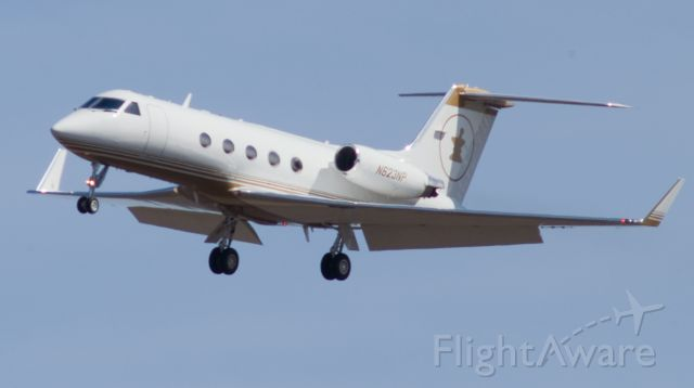 Gulfstream Aerospace Gulfstream 3 (N623NP) - Short Final