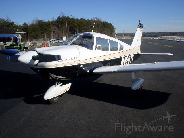 Piper Cherokee (N4287T) - Piper Cherokee 235 (Early model Dakota)