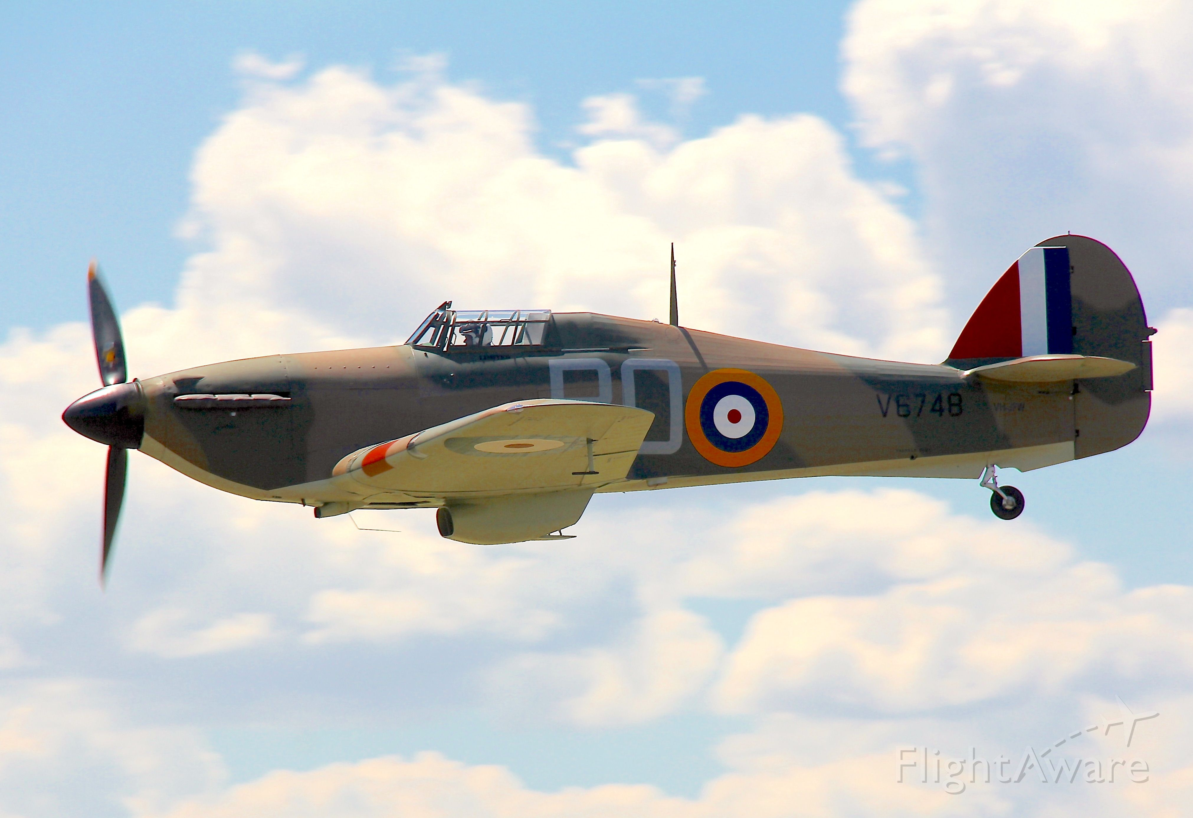 VH-JFW — - Hawker Hurricane Mk.XII<br />Manufactured in 1942, Canada<br />Photo: 28.01.2017
