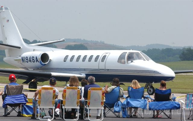 N194SA — - 1993 Cessna 560 in Danville Virginia ...Lands during airshow in 2006
