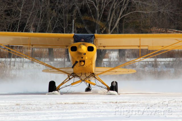 Cessna Centurion (N7610H) - Super Cub Run Up at Pioneer Airport.