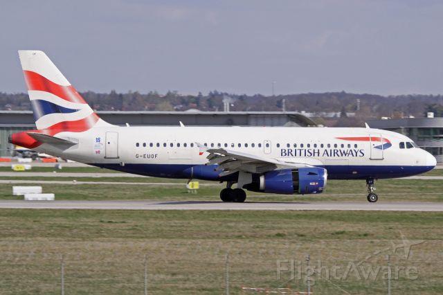 Airbus A319 (G-EUOF)