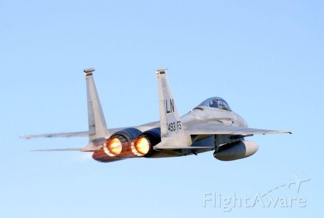 McDonnell Douglas F-15 Eagle — - Cold Lake