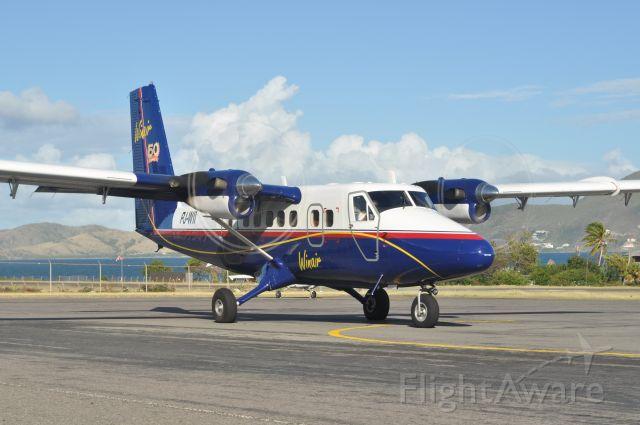 De Havilland Canada Twin Otter (PJ-WII) - 1/28/2013.