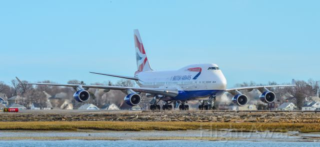 Boeing 747-400 (G-BYGA) - Shot with a Nikon D3200 w/ Nikkor 70-300mm<br />Best viewed in Full Size