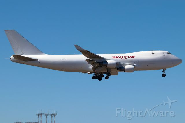 Boeing 747-400 (N701CK) - Flying for Turkish Cargo. Apr 2019