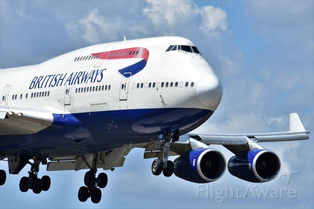 Boeing 747-200 — - BRITISH AIRWAYS