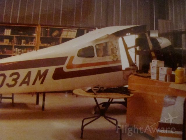 Cessna Skywagon (N103AM) - 3AM was heavily damaged when it flipped in the water after hitting a sand bar. Repaired by Pete at Multi Aero.