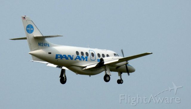 British Aerospace Jetstream 31 (N124PA) - On final is this 1984 Boston-Maine Airways British Aerospace Jetstream 3101 ifrom the Summer of 2020.