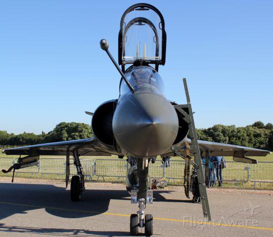 DASSAULT-BREGUET Mirage 2000 (N133XZ) - French Airforce to Salon , 26 5 2013