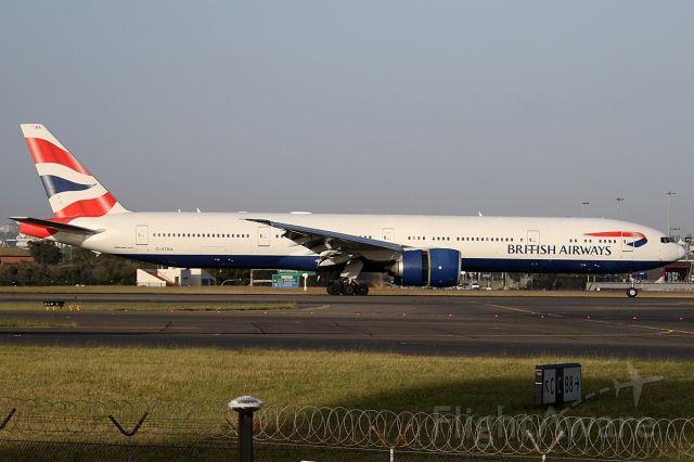 BOEING 777-300ER (G-STBA) - on 3 December 2018
