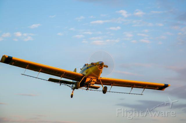 AIR TRACTOR Fire Boss (N508HB) - Cotton fields of Altus, OK