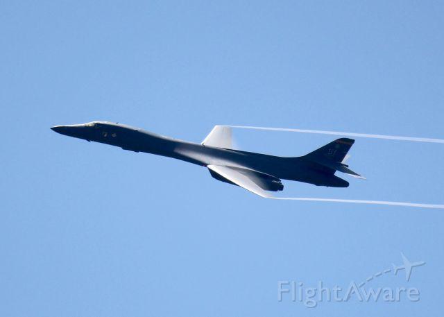 Rockwell Lancer (85-0089) - Over Barksdale Air Force Base.