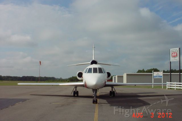 Dassault Falcon 50 (N990MM) - FALCON ON THE RAMP AT PERRY GA
