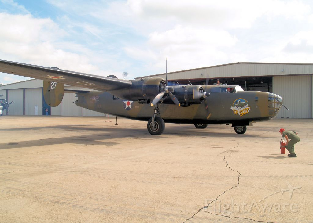 N24927 — - Commemorative Air Force 1941 B-24A Liberator. Operates out of Addison Airport, Cavanaugh Flight Museum