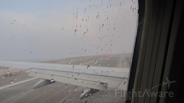 — — - En cabecera listo al despegue / In header ready for takeoff