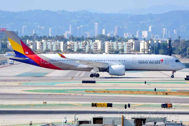 Airbus A350-900 (HL7578)