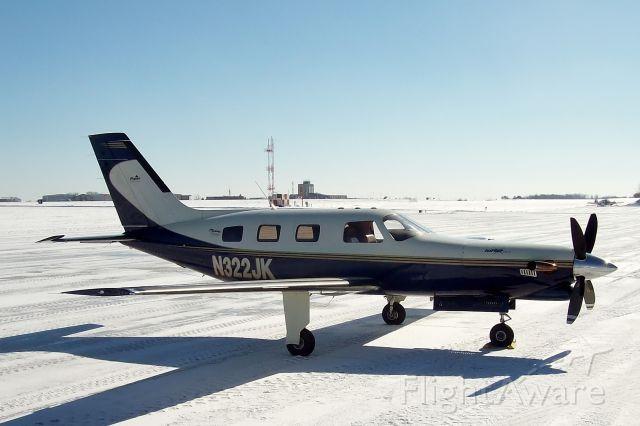 Piper Malibu Mirage (N322JK)