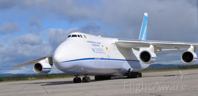Antonov An-124 Ruslan (82-0227) - Flt#ADB1848 From Trenton to Goose Bay to Leipzig.