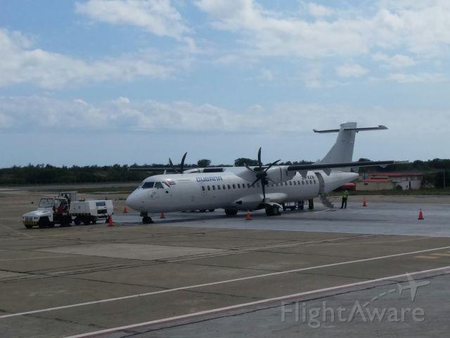 ATR ATR-72 (ZS-XZB) - Flight CUB885