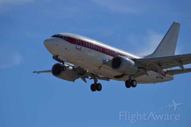 Boeing 737-700 — - Back from the Unknown, October 2014