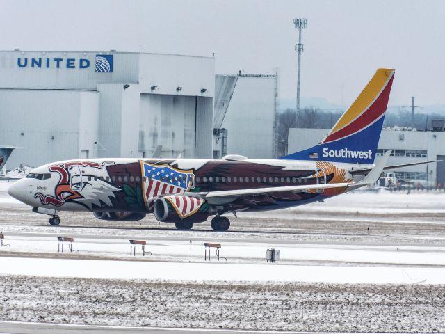 Boeing 737-700 (N918WN) - Illinois one
