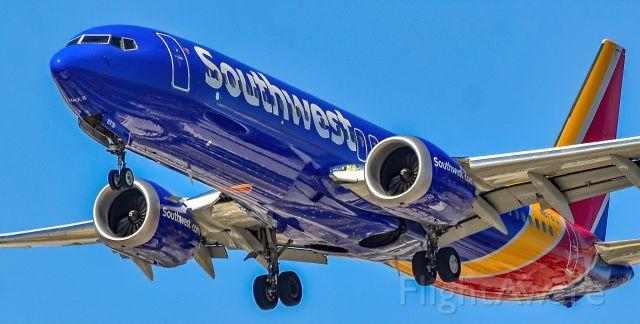 Boeing 737 MAX 8 (N8731J) - N8731J Southwest Airlines Boeing 737-8 MAX s/n 42550 - Las Vegas - McCarran International Airport (LAS / KLAS)br /USA - Nevada June 8, 2021br /Photo: Tomás Del Coro
