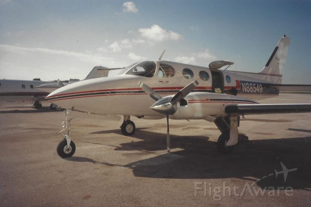 N88549 — - Cessna 340A at Boca Raton Airport