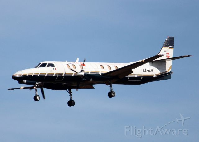 Fairchild Dornier SA-227DC Metro (XA-SLW) - At Shreveport Regional. 1985 Fairchild SA-227AC Metro III